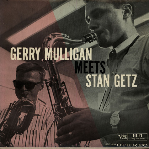 Gerry Mulligan Meets Stan Getz - Gerry Mulligan Meets Stan Getz
