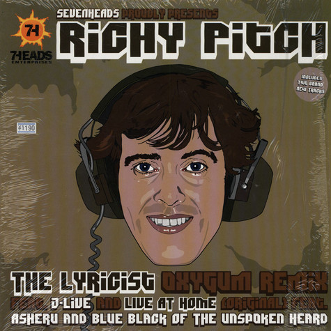 Richy Pitch - The lyricist feat. J-Live Oxygum remix