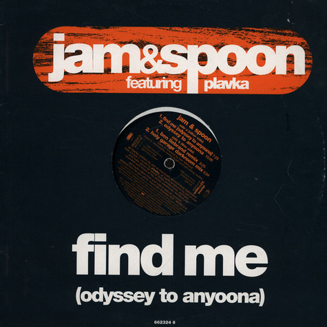 Jam & Spoon - find me