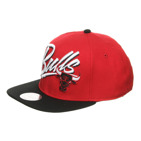 Mitchell & Ness - Chicago Bulls NBA Vice Script Snapback Cap