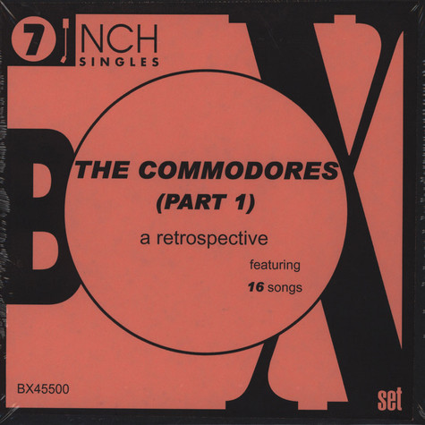 Commodores - Box Set Part 1