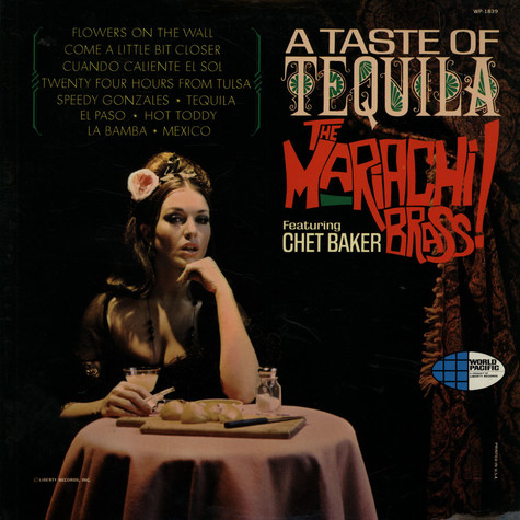 Mariachi Brass, The Featuring Chet Baker - A Taste Of Tequila