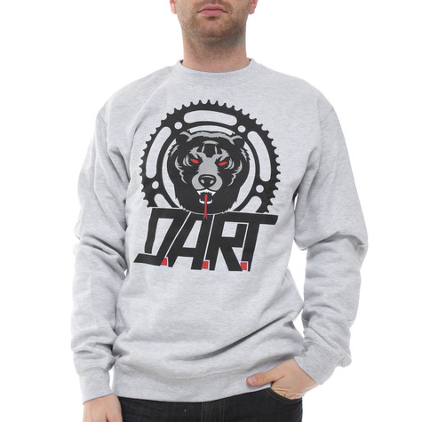 Mishka - D.A.R.T Big Logo Crewneck Sweater