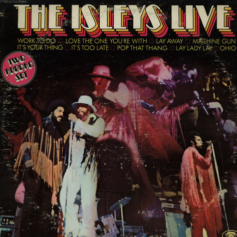 Isley Brothers, The - The Isleys Live