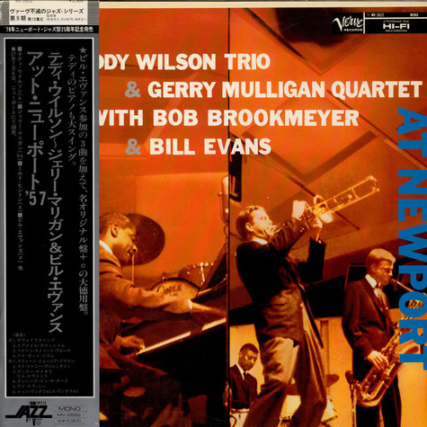 Teddy Wilson Trio & Gerry Mulligan Quartet With Bob Brookmeyer & Bill Evans - At Newport
