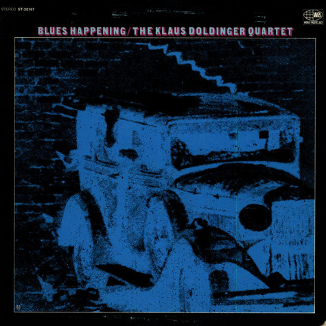Klaus Doldinger Quartet, The - Blues Happening