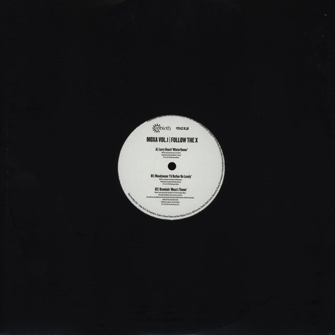 Larry Heard / Moodymann / Osunlade - Moxa Volume1 - Follow The X