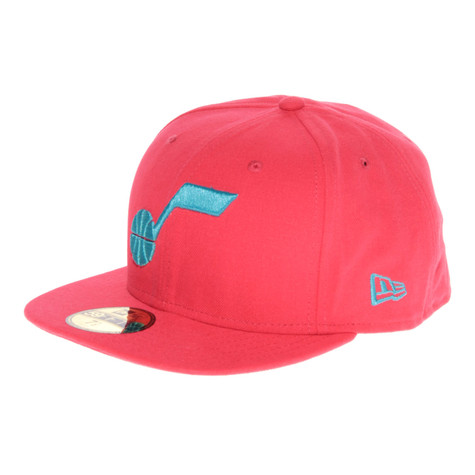 New Era - Utah Jazz Seasonal Cont NBA Cap (Lava   Vice Blue)  ca8c068787b