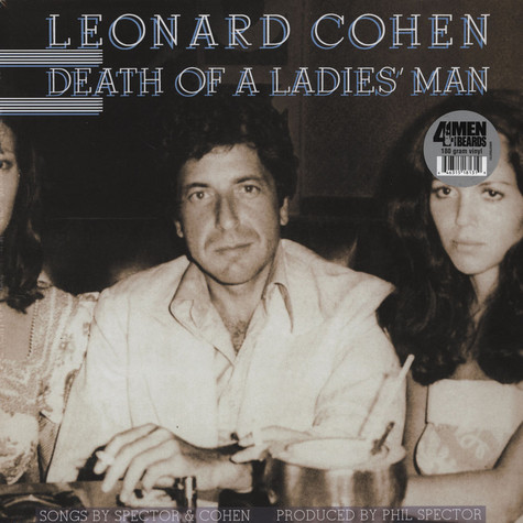 Leonard Cohen - Death Of A Ladies Man