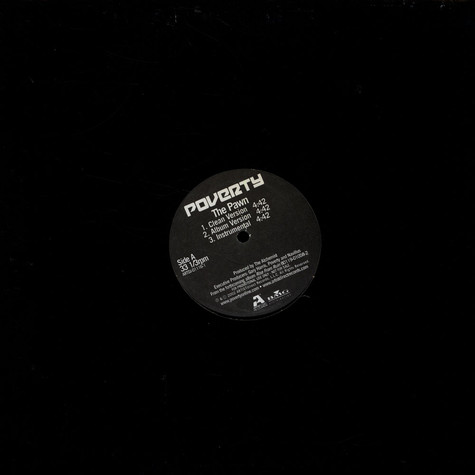 Poverty - The Pawn