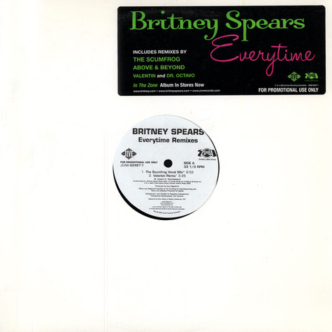 Britney Spears - Everytime remixes