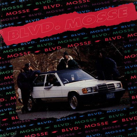 Blvd. Mosse - All Praises Due To Outstanding