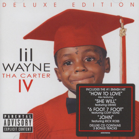 Lil Wayne - Tha Carter IV Deluxe Version