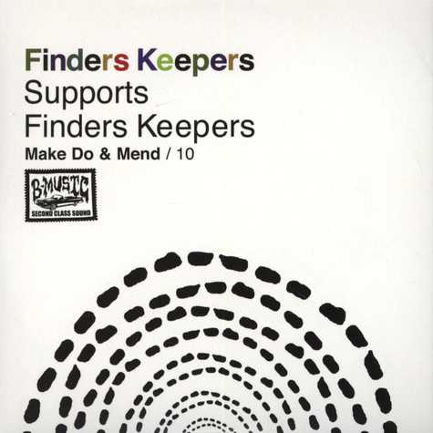 Finders Keepers Records - Make Do & Mend Volume 10