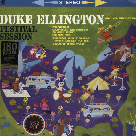 Duke Ellington & His Orchestra - Festival Session