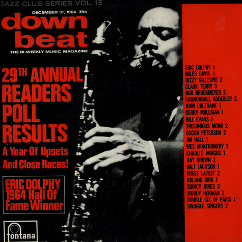 V.A. - The Winners Of Down Beat's Readers Poll 1964