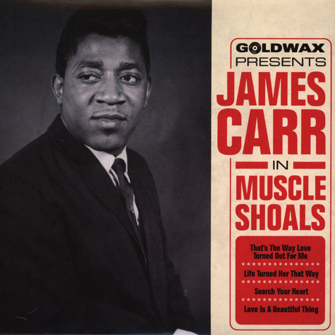 James Carr - In Muscle Shoals EP