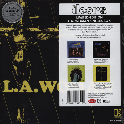 Doors, The - L.A. Woman Singles Box