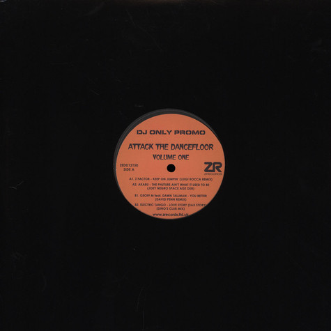 Z Factor / Akabu / David Penn - Attack The Dancefloor Volume 1