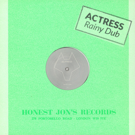 Actress - Rainy Dub / Faceless