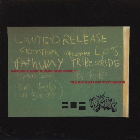 Mike Boo / Teeko - Pathway / Tribe Stride