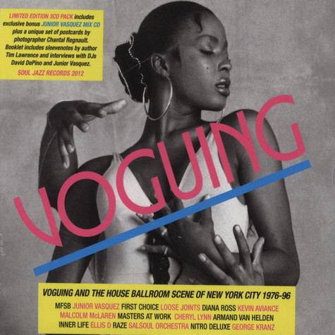 Soul Jazz Records presents - Voguing and the House Ballroom Scene of New York City 1989-92
