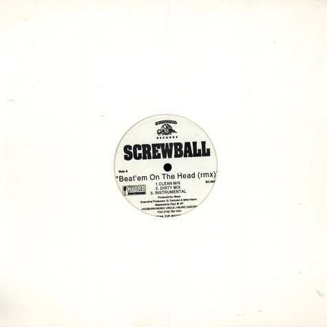 Screwball - Beat'em on the head remix