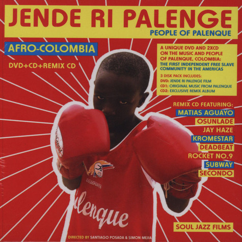 Soul Jazz Records presents - Jende Ri Palenge - People Of Palenque