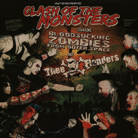 Bloodsucking Zombies From Outer Space / Flanders, The - Clash Of The Monsters