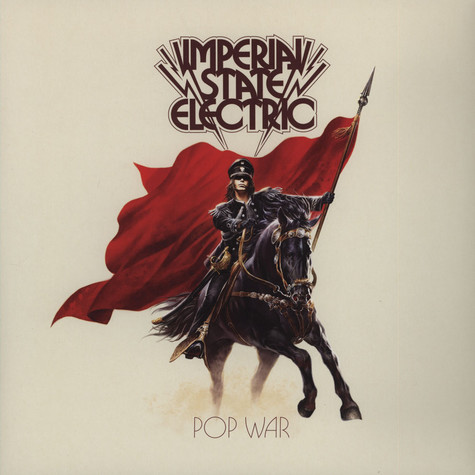 Imperial State Electric - Pop War Limited Red Vinyl