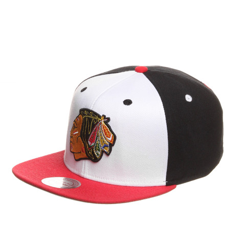 Mitchell & Ness - Chicago Blackhawks NHL Hi Crown Snapback Cap