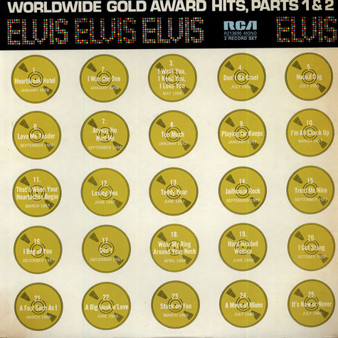 Elvis Presley - Worldwide Gold Award Hits, Parts 1 & 2