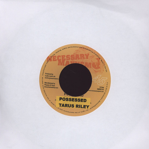 Tarrus Riley / Da Grynch - Possessed / Possessed Dub