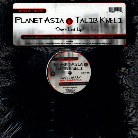 Planet Asia & Talib Kweli - Don't Let Up