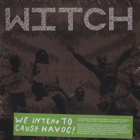Witch - We Intend To Cause Havoc!