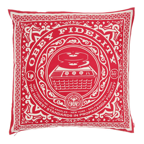 Obey - Highest Standards Pillow