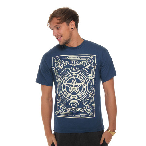 Obey - Spinning Dissent T-Shirt