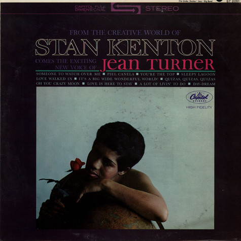 Stan Kenton & Jean Turner - From The Creative World Of Stan Kenton Comes The Exciting New Voice Of Jean Turner