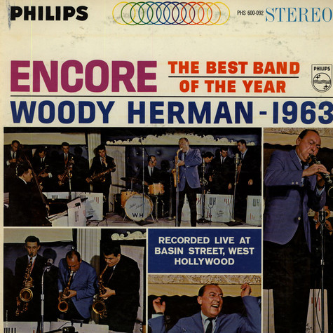 Woody Herman - Encore