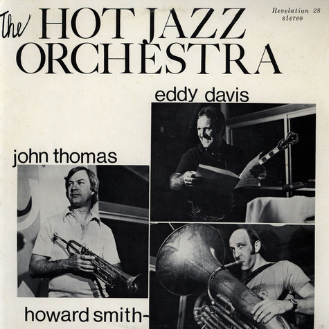 Eddy Davies & The Hot Jazz Orchestra - The Hot Jazz Orchestra