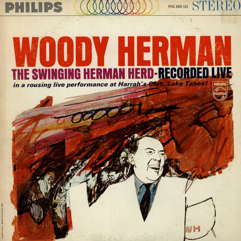 Woody Herman - The Swinging Herd - Recorded Live