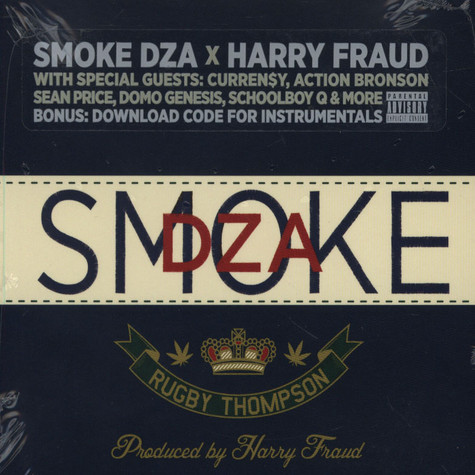Smoke DZA x Harry Fraud - Rugby Thompson