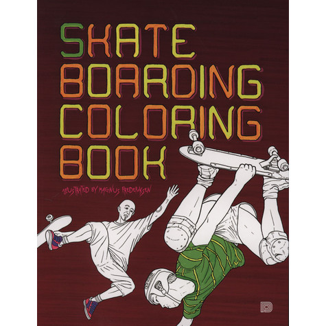 V.A. - Skateboarding Coloring Book