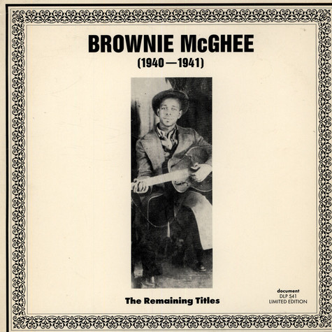 Brownie McGhee - The Remaining Titles