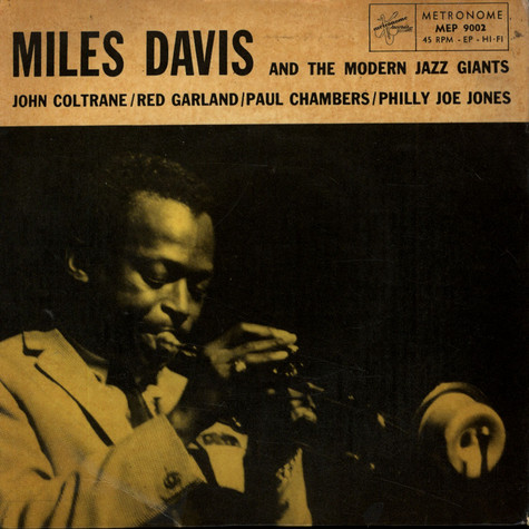 Miles Davis Quintet, The - 'Round About Midnight / You're My Everything