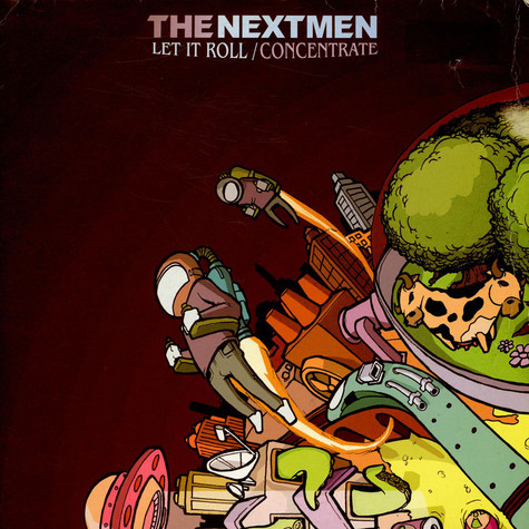 Nextmen - Let it roll feat. Alice Russell
