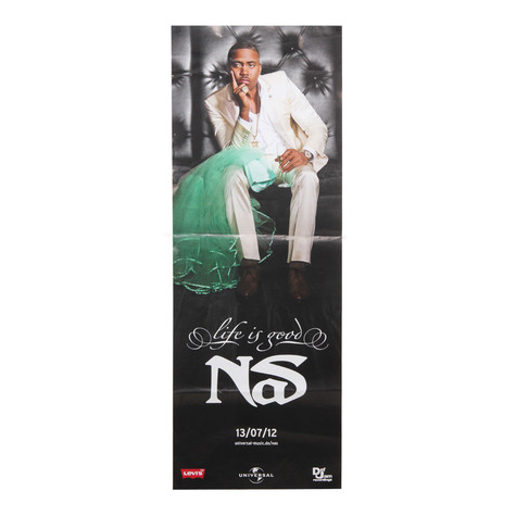 Nas - Life Is Good Poster