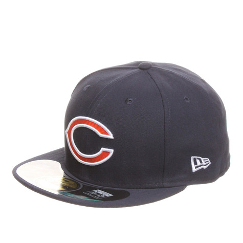 ef86090c07a940 New Era - Chicago Bears Sideline NFL On-Field 59Fifty Cap (Navy) | HHV
