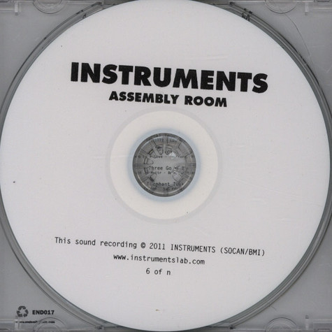 Instruments - Assembly Room