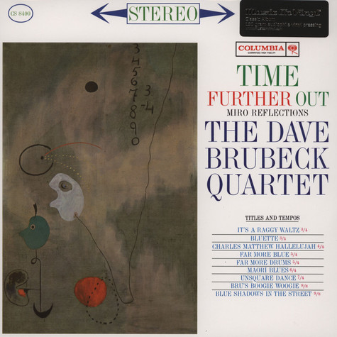 Dave Brubeck Quartet, The - Time Further Out